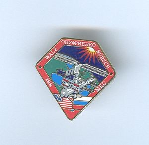 Expedition 4 ISS International Space Station Mission Lapel Pin Official NASA